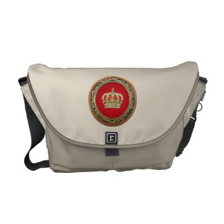 [600] Prince-Princess King-Queen Crown [Belg.Gold] Messenger Bag