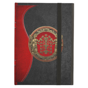 [600] Two Gold Ninurtas with Tree of Life iPad Air Cover
