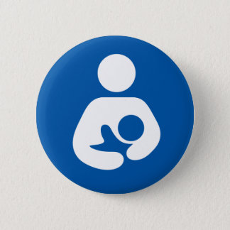 600px-Breastfeeding-icon-med.svg 2 Inch Round Button