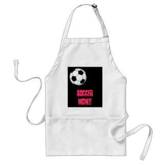 600px-Soccer_ball.svg, SOCCER MOM!! Standard Apron