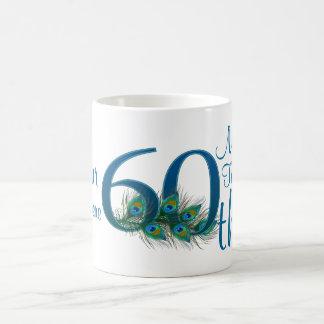 # 60 - 60th Wedding Anniversary or 60th Birthday Basic White Mug