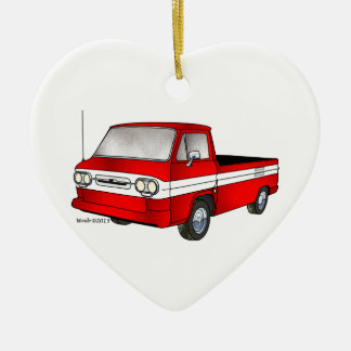 60-61 Corvair Rampside Pickup Ceramic Ornament