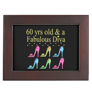 60 AND FABULOUS SHOE QUEEN MEMORY BOX