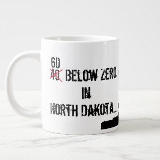 60 Below Zero ND Oilfield Large Coffee Mug