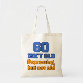 60 Isn't Old Tote Bag