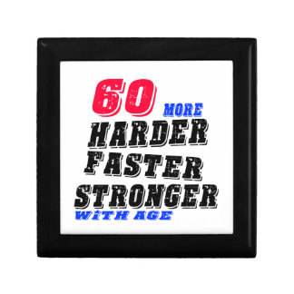 60 More Harder Faster Stronger With Age Gift Box