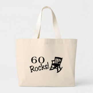 60 Rocks (Rocker) Jumbo Tote Bag
