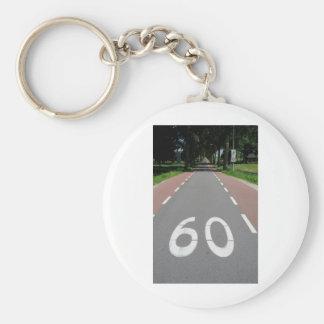 60 sixty keychain