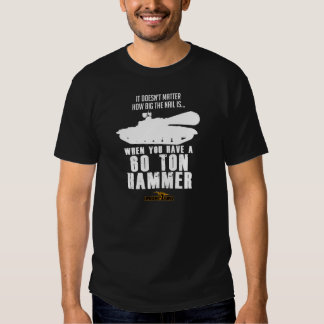 60 Ton Hammer - Dark T-shirts