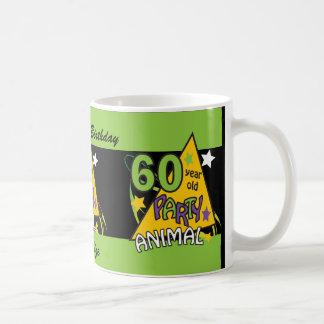 60 Year Old Party Animal - 60th Birthday Classic White Coffee Mug