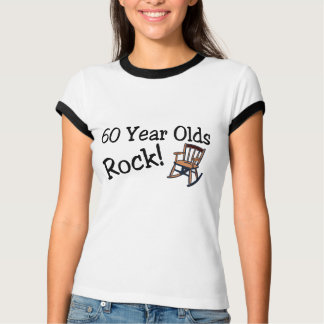 60 Year Olds Rock (Rocking Chair) T-Shirt
