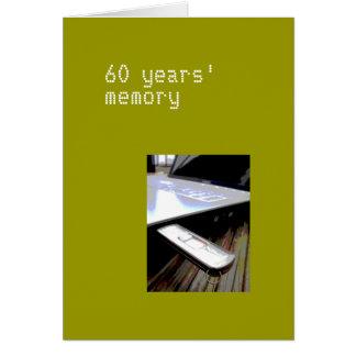 60 years card