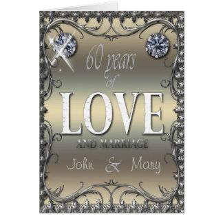 60 Years of Love Card