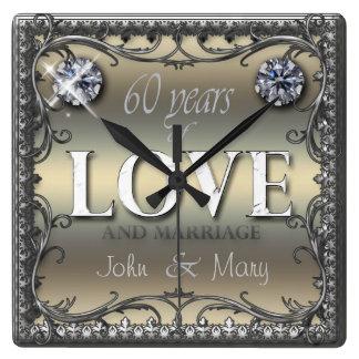 60 Years of Love Clocks