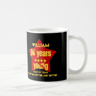 60 Years Young or ANY YEAR V01A RED STAR Coffee Mug