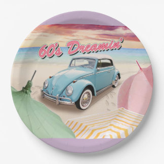 60's Dreaming Party Plate