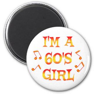 60s Girl Magnet