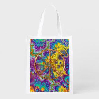 60's Groove Reusable Grocery Bag