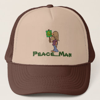 60's Hippie Trucker Hat