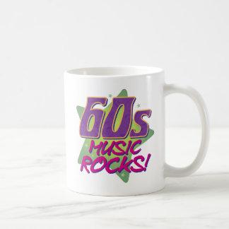 60s Music Rocks! Coffee Mug