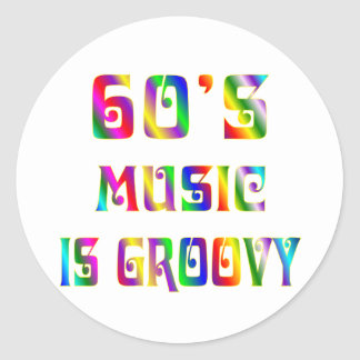 60s Music Stickers