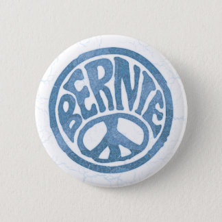 60s Peace Bernie 2 Inch Round Button