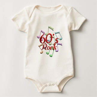 60s Rock Baby Bodysuit