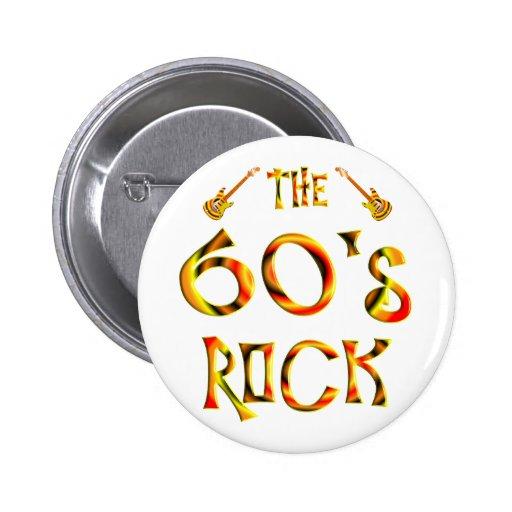 60's Rock Pins