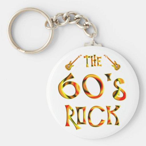 60's Rock Key Chains