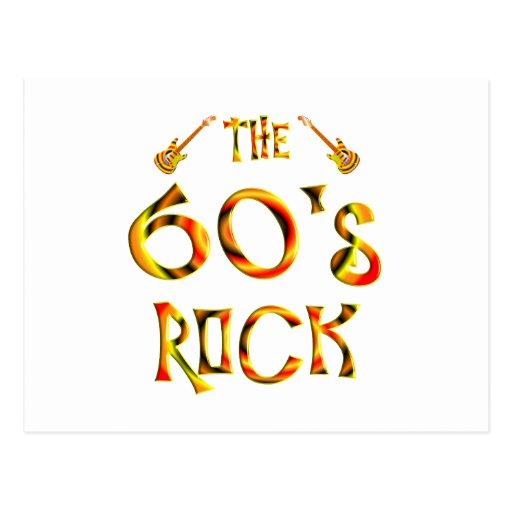 60's Rock Postcards