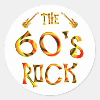 60's Rock Sticker