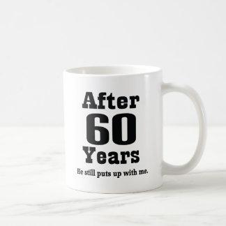 60th Anniversary (Funny) Basic White Mug