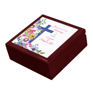 60th Anniversary, Nun, Religious Life Cross Gift Box