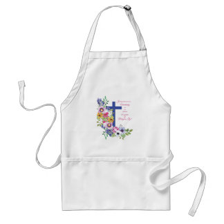 60th Anniversary, Nun, Religious Life Cross Standard Apron