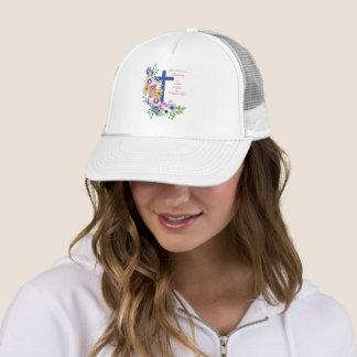 60th Anniversary, Nun, Religious Life Cross Trucker Hat