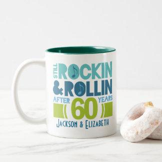 60th Anniversary Personalized Mug Gift
