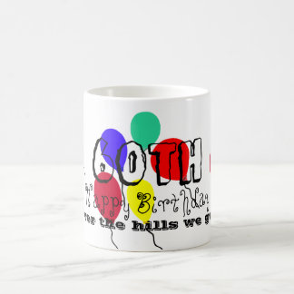 60th Birthday Balloons Humor Mug