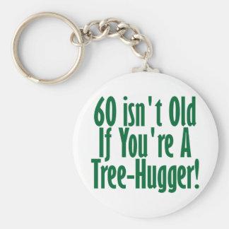 60th Birthday Basic Round Button Keychain