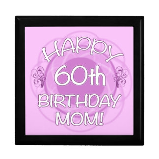 60th Birthday For Mom Gift Box