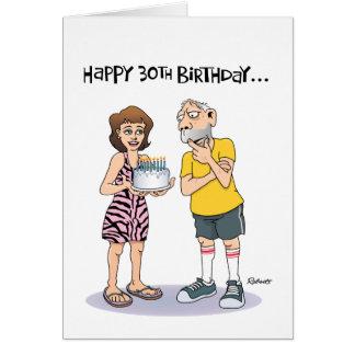 60th Birthday Funny Male Greeting Card