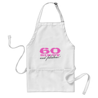 60th Birthday gift apron | 60 and fabulous!