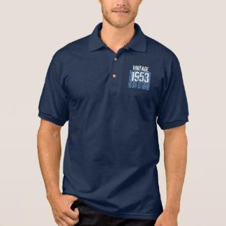 60th Birthday Gift Best 1953 Vintage Blue V004 Shirt