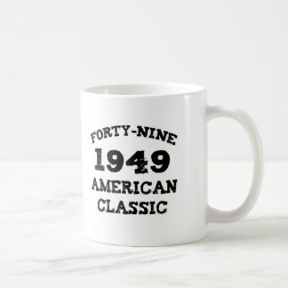 60th Birthday Gifts, 1949 American Classic! Coffee Mug