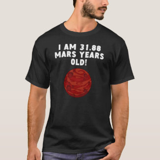 60th Birthday Mars Years T-Shirt