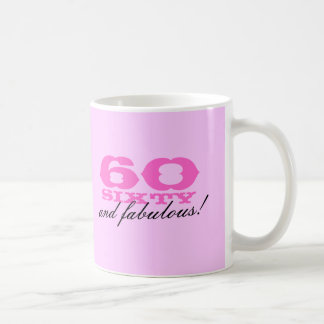 60th Birthday mug for women | 60 and fabulous!