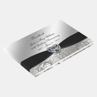 60th Diamond Wedding Anniversary Guestbook