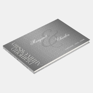 60th Diamond Wedding Anniversary Photo Party Guest Book