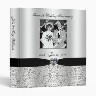 60th Wedding Anniversary Binder