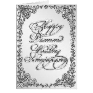 60th Wedding Anniversary Greeting Card