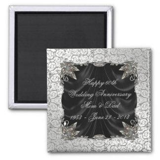 60th Wedding Anniversary Magnet Fridge Magnets